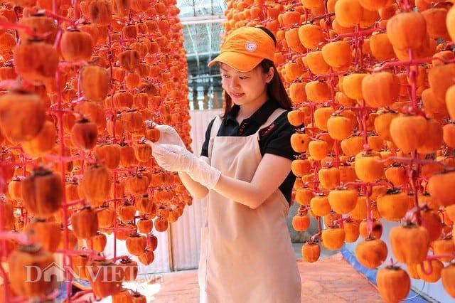 cơ sở sản xuất hồng treo Đà Lạt