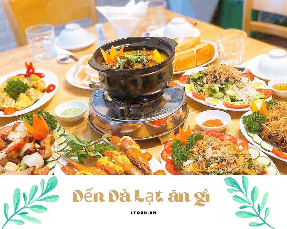 Địa điển ăn uống ở Đà Lạt
