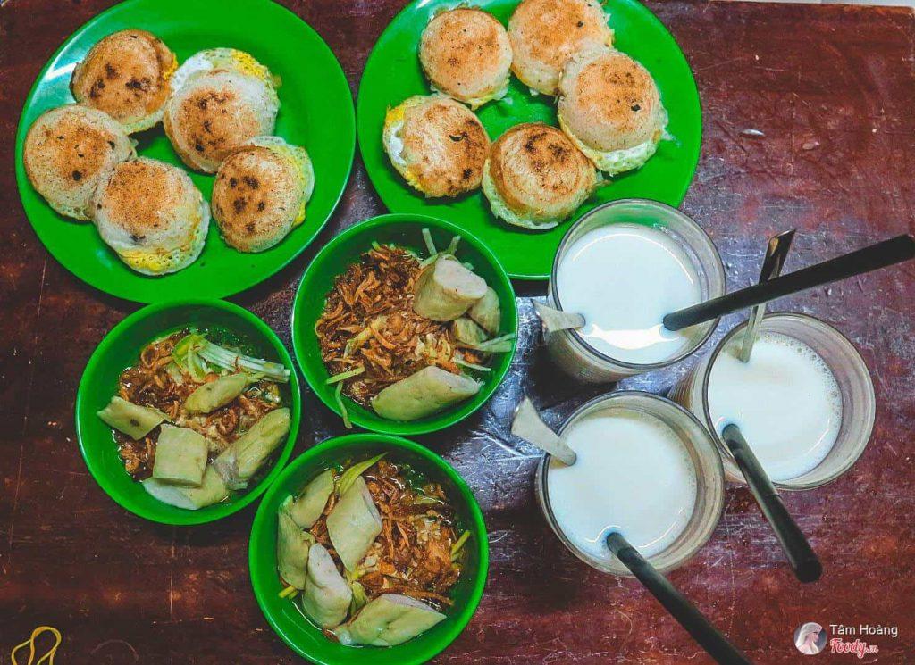 ăn vặt ở đường nhà Chung Đà Lạt