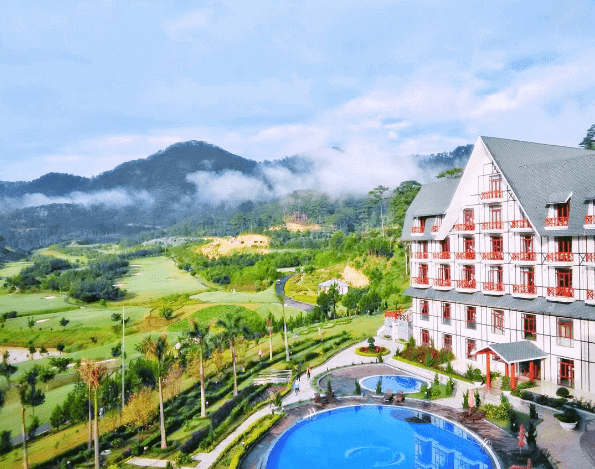 Khách sạn 5 sao Đà Lạt gần Hồ Tuyền Lâm