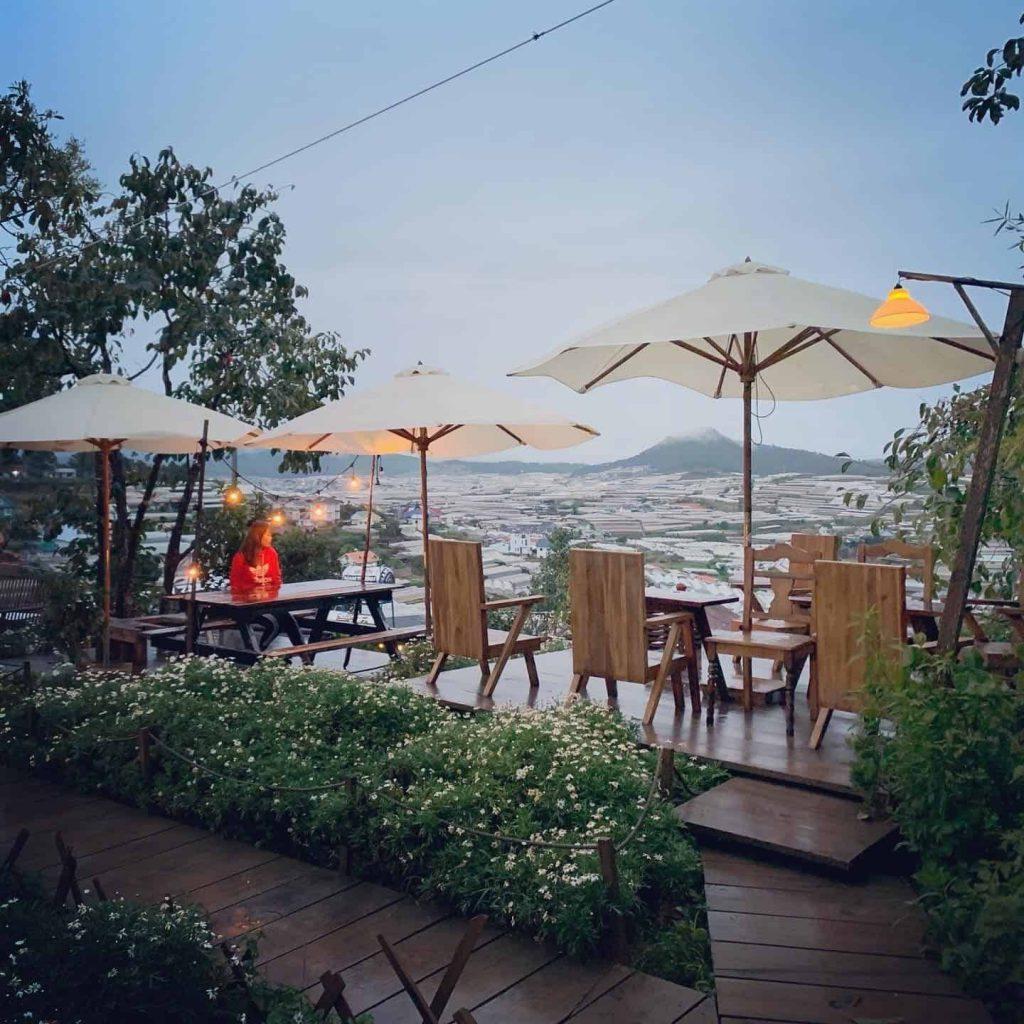 cafe view dep Đà Lạt