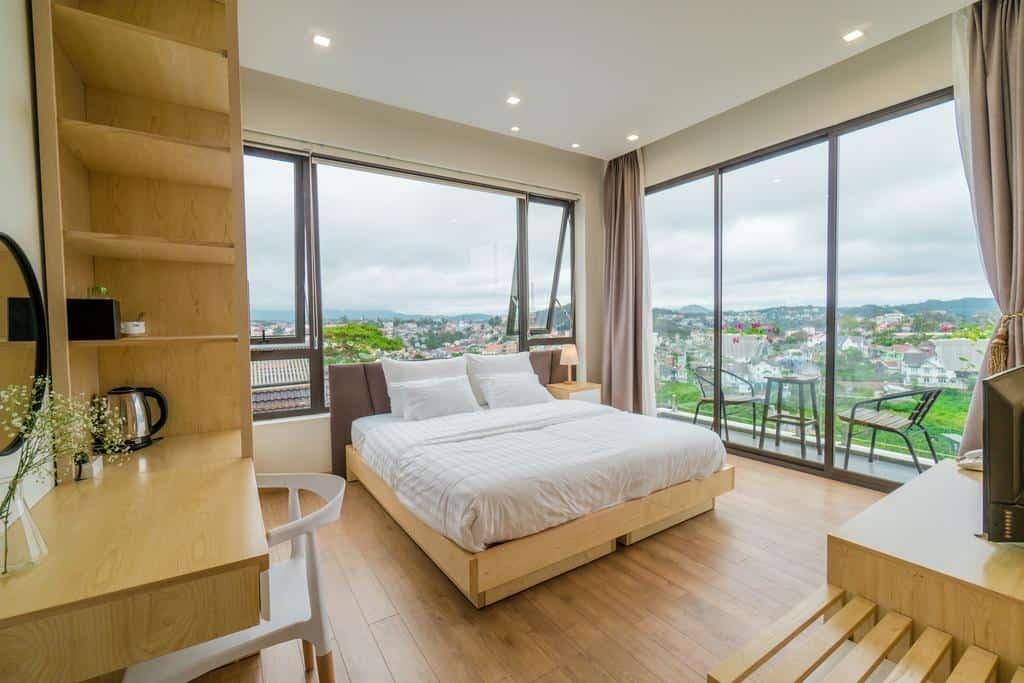 Khách sạn 2 sao Đà Lạt view đẹp