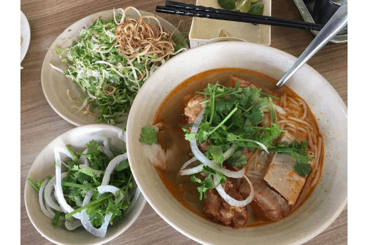Quán bún bò Thiên Trang Đà Lạt